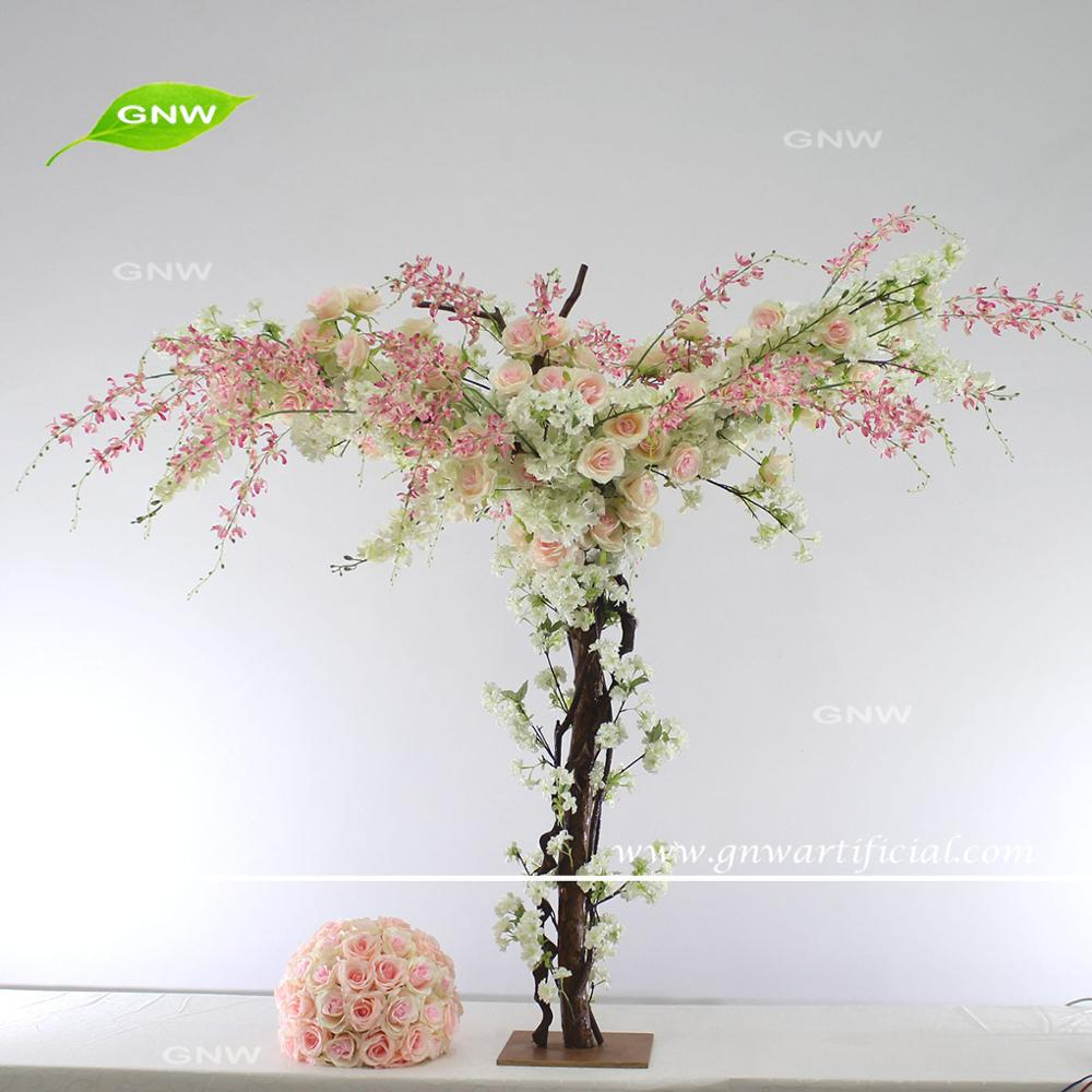 GNW 4ft white cherry blossom table centerpiece tree