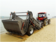 hot sail new design hydraulic beach sand cleaner beach cleaning machine
