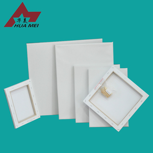 280g 100% Cotton Stretch Blank Wooden Canvas Frame For Oil Painting