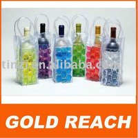 plastic wine cooler bag,pvc ice wine bags,pvc ice beer bags