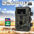 Hunting Trail camera 940nm Detection Range 20M Night Vision LCD Display Security
