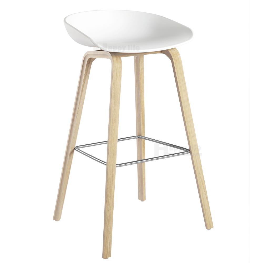 New Danish Design Bar Furniture Colorful Plastic Stool