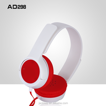Classic model AD298 3.5mm 40mm dirver wired headset, Mobile headphone