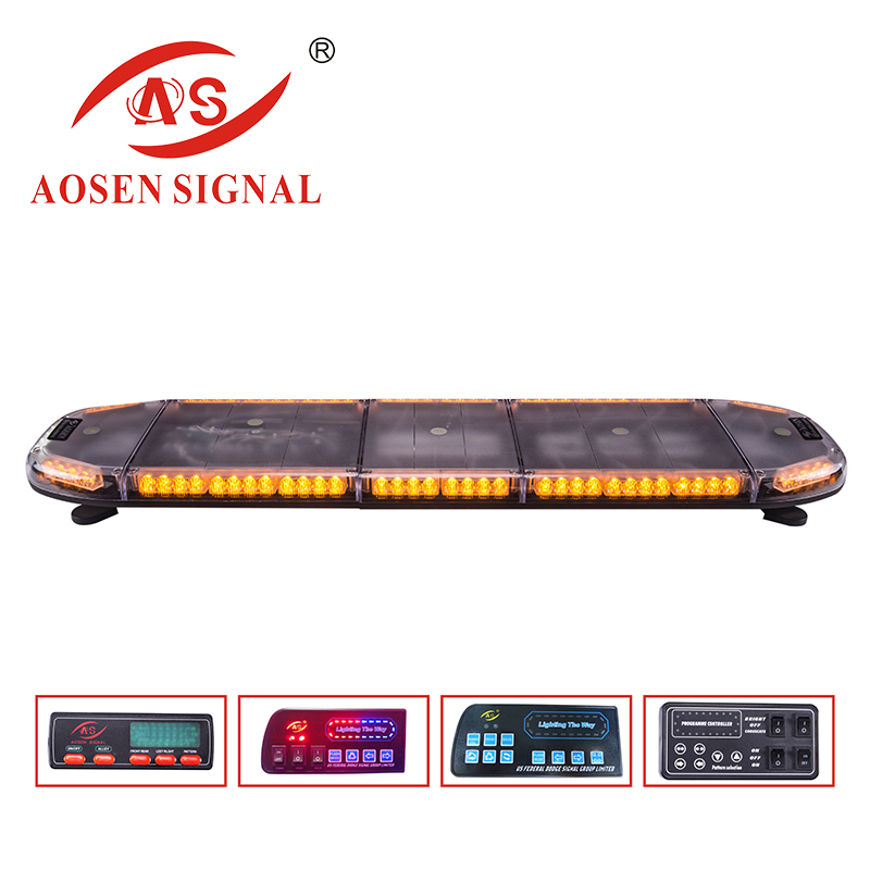 Car Top Roof LED Amber Emergency Truck Light bar