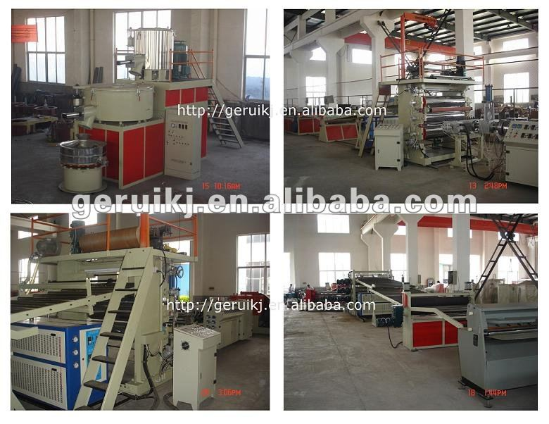 PP/ABS sheet production line