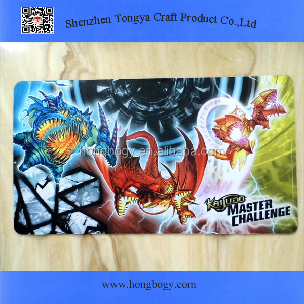 Digital sublimation printing rubber gaming mouse pad