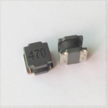 Hot shielded wire wound clip smd power inductor 47uH mark 470