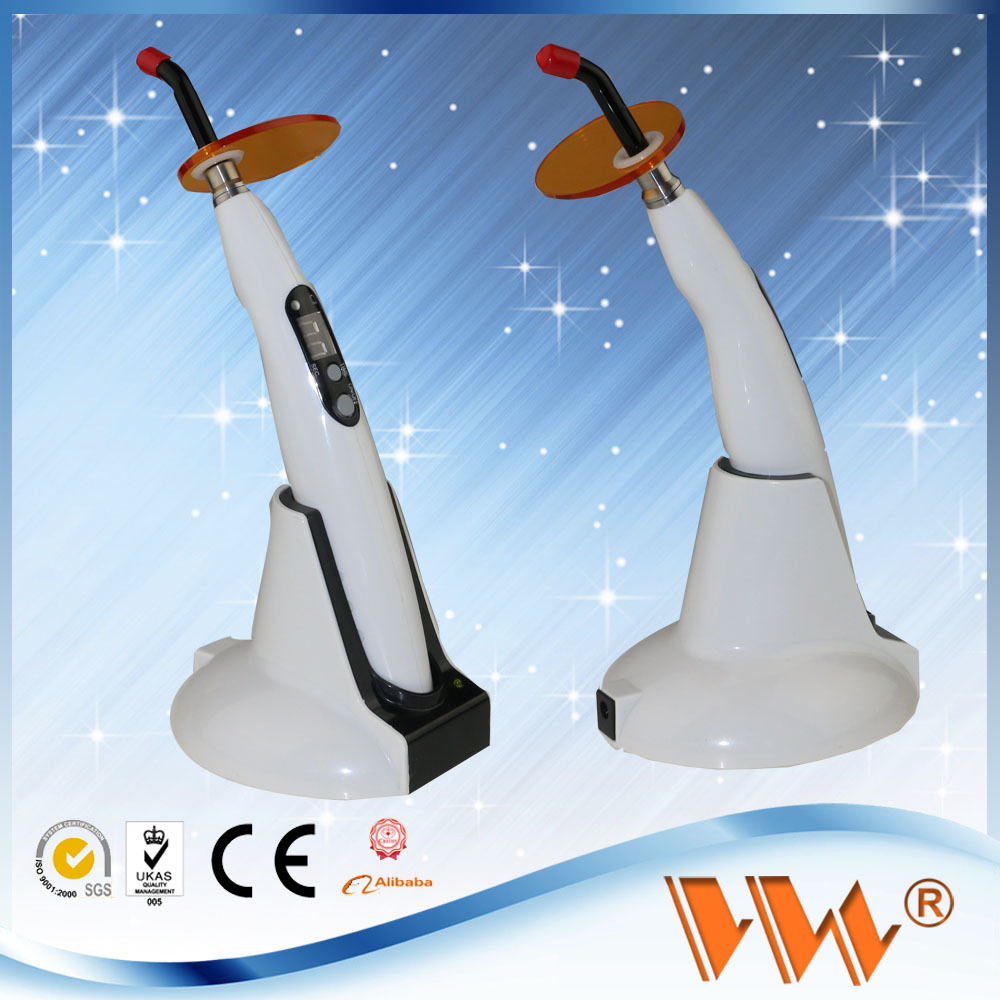 dental instrument curing composite with 3 fuctions