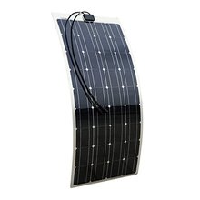 2017 Best Selling Roof RV Marine 100w Semi Flexible Solar Panel
