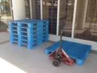 Plastic Pallets and Pallet Jacks Firesale