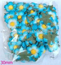 handmade mulberry paper saa paper flower for scrapbook