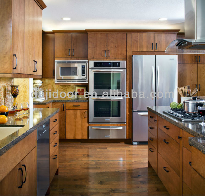 Wooden China Kitchen Cabinets For Sale DJ-K368