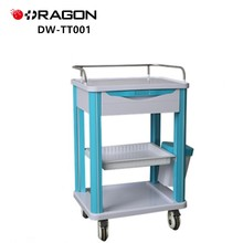 Hospital Cart Manufacturers Patient CE Approved Medical Treatment Trolley