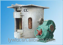 Scrap iron/Cans/aluminum chips melting furnace for produce ingots