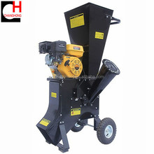 gasoline engine chipping machine wood branches crusher