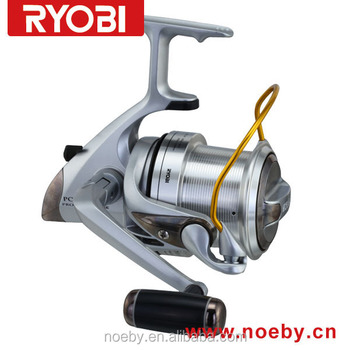 RYOBI Aluminum spool spinning fishing reel gear ratio 5.1 MAX. DRAG power 12kg ball bearings 4+1 fishing tackle reel