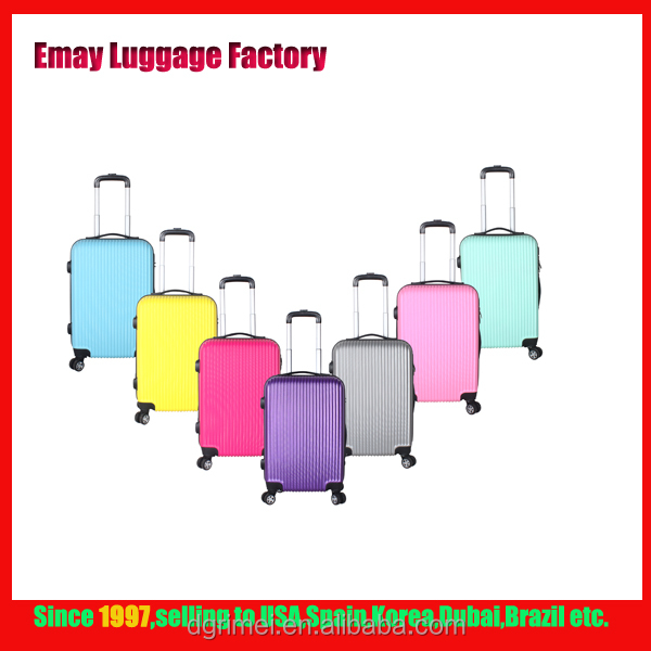 2017 Newest style 3 Sizes Trolley Luggage travel bags