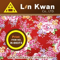 Linkwan H-00373 china stlye tradition flower print cotton cloth/LK