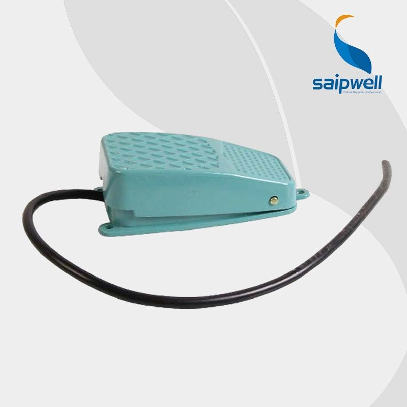 CE RoHS approved Saip/Saipwell drill machine foot switch