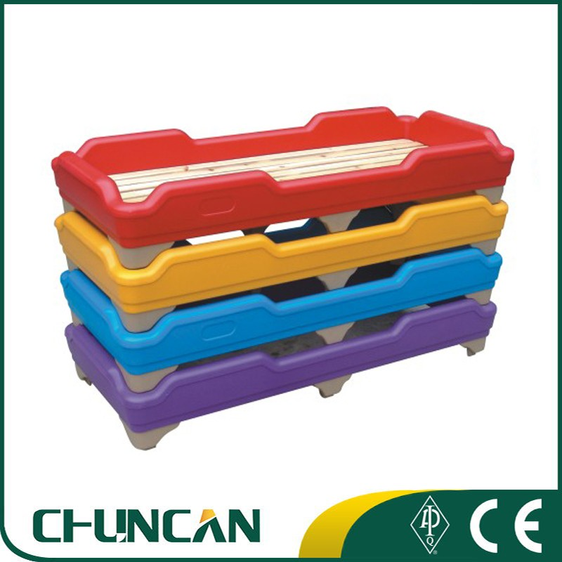 Plastic Stackable Children Bed Kids Bed