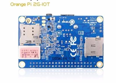 Orange pi 2g Iot 32 bit development board raspberry pi