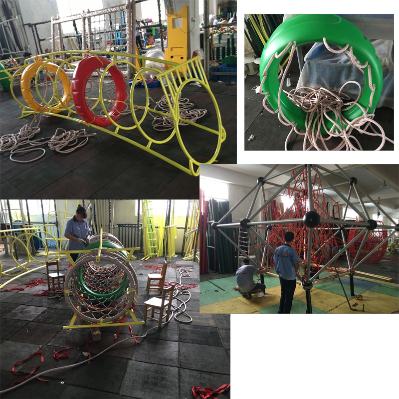 Children outdoor playground outdoor climbing nets children climbing equipment