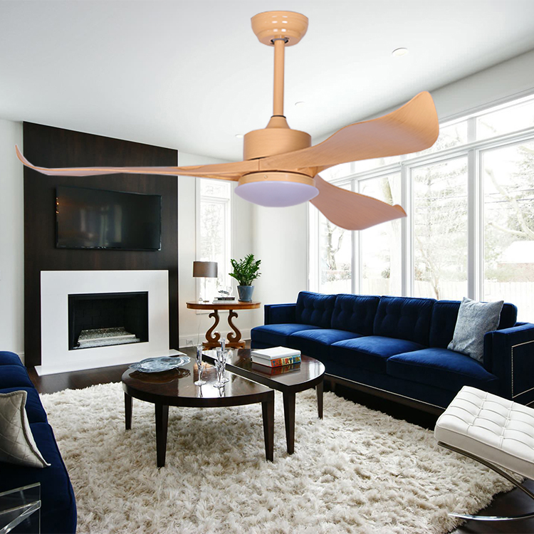 Home & Living room modern decorative led lighting ceiling fans with remote control