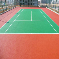 Skid Proof Stretchy Sports Court Floor Paint