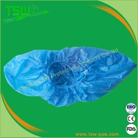 China Disposable PP+CPE Shoe Covers Surgical Welding Shoe Covers Wholesale