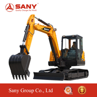 SANY SY60 6 Tons portable Small Crawler Excavator of rc Hydraulic Excavator for Sale