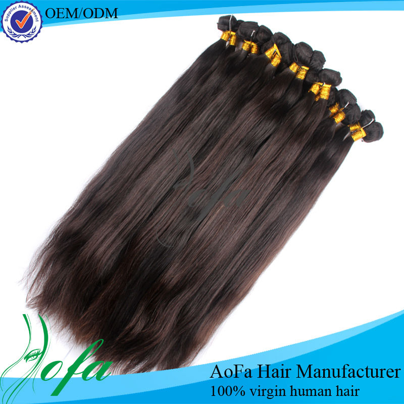 Natural color,red human hair weaving