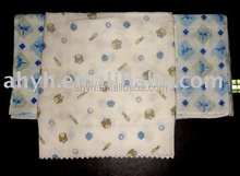 Printed Cloth Flatfold Diapers,muslin wraps