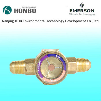 Emerson HMI series flow glass sight glass