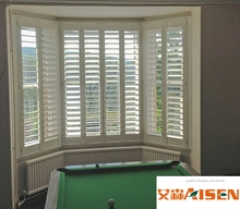 2017 China Bay Window Wooden Plantation Shutter