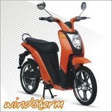 scooter 400cc CE/EEC high speed long range two wheel hub motor electric scooter with pedals for sale