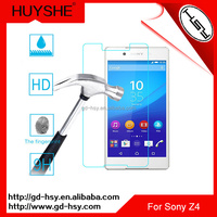 HUYSHE mobile phone protective film for Sony Xperia Z5 Premium tempered glass anti explosion with retail packaging