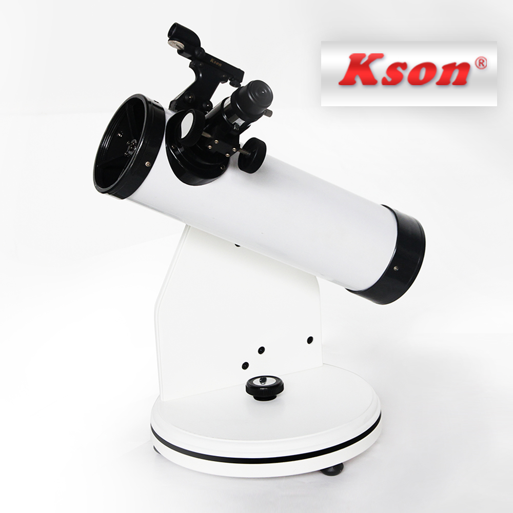 Dobsonian 80mm Aperture Reflector Telescopes Astronomic Professional With Plastic Focuser KDB50080