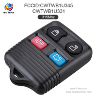 Wholesale car key,Auto 4 Button Remote Key Set 315Mhz for Ford car model,AK018006