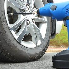 Hot sale Hand-Held 12V electric portable mini car tyre air pump Ce rohs certification