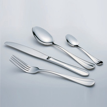 Easy to clean family party stainless steel promotional spoon knife forks set
