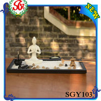 SGY103 Black Wooden Tray 3d Picture