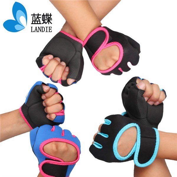 2015 new arrival popular Professional Half Finger sports bike gloves half finger bike gloves half finger