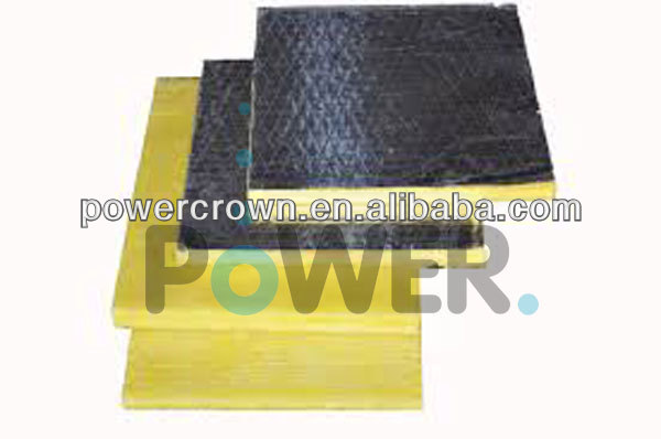 energy keeping thermal insulation foil faced glass wool board