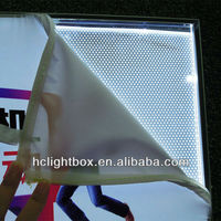 Clothing display frame,fabric show light box