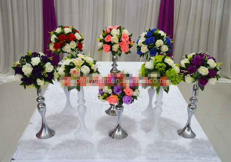 Wholesale luxury wedding table centerpieces candelabra for Buy wedding centerpieces