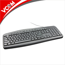 Hot Selling Factory New Model USB Wired Cheap Multimedia Keyboard