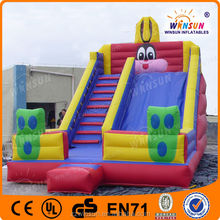 commercial giant Rabbit inflatable water slides wholesale
