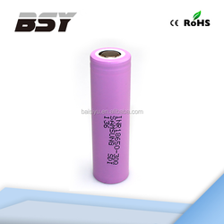 New stock!! 100% authentic Samsung 30Q 18650 3000mah 3.7v lithium battery for vaporize/vape devices 18650 Samsung 30Q
