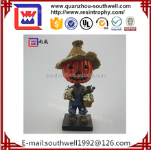 factory custom-made high quality resin pumpkin of Thanksgiving Day decoration