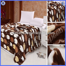 thick blankets/throw blanket/branded blanket